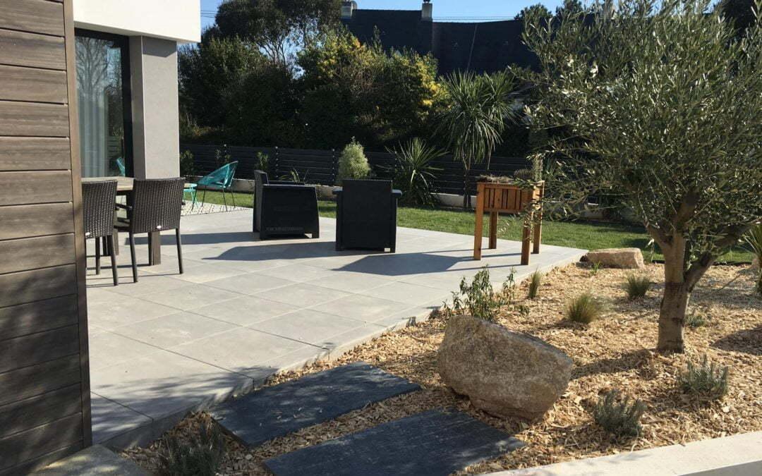 Création et aménagement d'un Jardin à la Baule